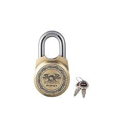 Mindy Padlock - With 4 Keys- colour Brass Brass normal