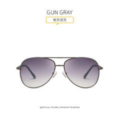 Duche 2019 new sunglasses lady sunglasses star style GUN GRAY