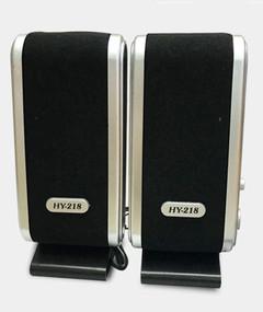 HY-218 Computer speaker mini-audio USB interface Laptop Desktop speaker can be used as power supply Grey