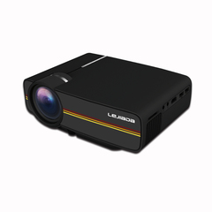 LCD Projector YG410 LED Video Projection Machine for Family Education School Home Theater black yg400