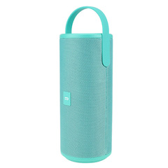 New portable Bluetooth speaker with bass canvas can be used as mobile power supply green picture