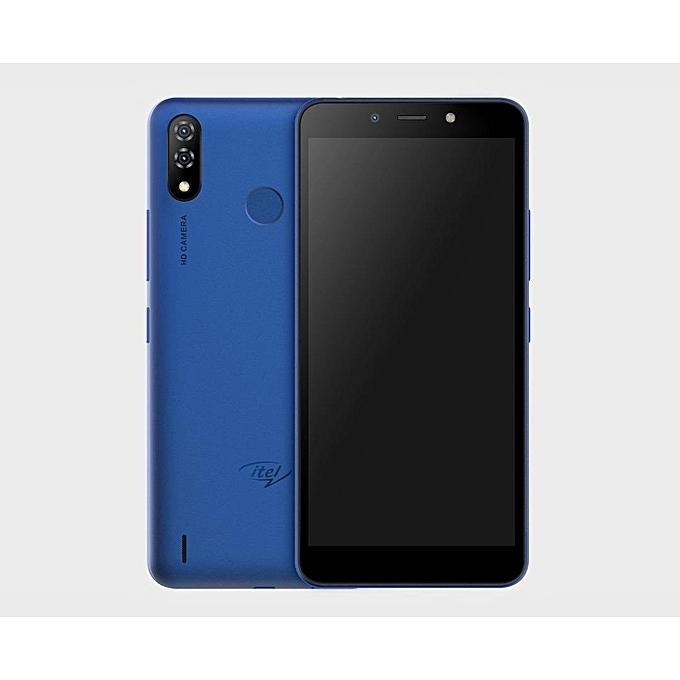 Itel P33 Plus Smartphone 6.0 Inch, 16+1GB, Dual Sim, 8+5MP camera, 5000MAH Blue