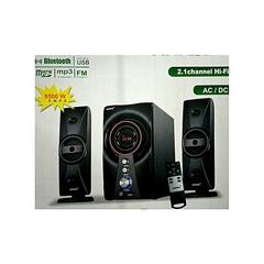 Ampex 2.1 Channel SubWoofer Speaker, System BT ,FM, 9800W, AC/DC black 9800w AX803MS