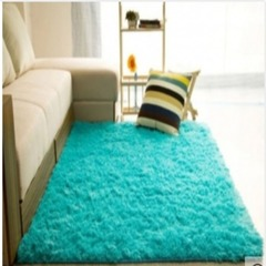 Soft, Fluffy and Beautiful Carpet blue 5*8