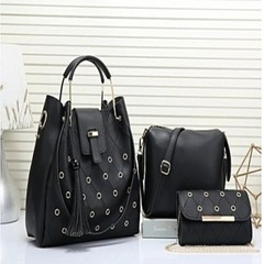 Ladies Handbag black 3in1