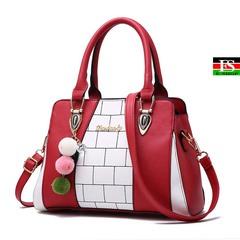 Fashion Casual women's handbags Luxury handbag Designer Messenger bag Shoulder bags new bags red 11.42*5.12*7.87in
