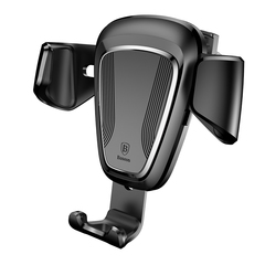 Baseus Gravity Car Phone Holder Vent Mount Mobile Phone Holder For Phone In Car Stand black one size