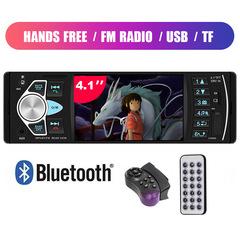 Bluetooth Autoradio Car Stereo Auto  MP5 Player TF USB MP3 Radio Audio Video Player + Camera Steering Control one size