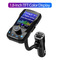 Bluetooth Car Kit Color Screen MP3 Music Player FM Transmitter U Disk AUX Audio Car Charger Radio