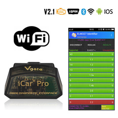 OBD2 Scanner Bluetooth WIFI For Android/IOS Car Diagnostic Tool  easydiag scanner automotriz OBD 2 WIFI one size