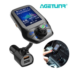 Bluetooth Car Kit MP3 Player FM Transmitter Modulator Handsfree Radio Music USB Adapter Charger
