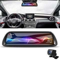 Smart Car DVR 10 inch Full HD Starlight Night Vision 1080P Multi-functional Smart Car Dual Lens DVR