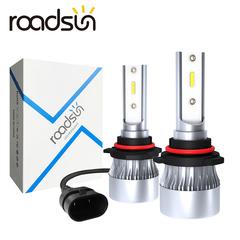 2PCS 60W Car Headlight 1902 Lamp LED Bulbs Headlamps Kit Fog light LED Lamp H1 H4 H7 H8 9005 9006 white h1