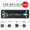 New Car audio stereo Car Radio Player Bluetooth  In-dash 1 Din FM Aux Input Receiver SD USB MP3 as picture