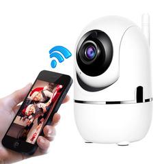IP Camera 1080P Mini CCTV Sucurity Wifi Cameras Audio Night Vision Support SD Card Home Cameras 720P UK Plug