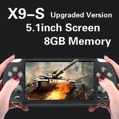 Game Console Screen 16GB MP4 MP5 Game Player Support  PSP Game Camera Video EBook AS SHOWN