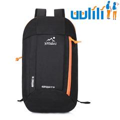 UULILI  Backpack Unisex Mountaineering Polyester fiber BagWaterproof Bags Backpacks Sports Bags black 9*4*16(in)