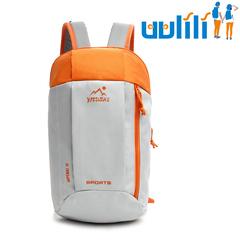 UULILI  Backpack Unisex Mountaineering Polyester fiber BagWaterproof Bags Backpacks Sports Bags orange 9*4*16(in)