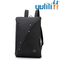 UULILI  Laptop Backpack USB Nylon Charging Anti Theft Men Travel Backpack Waterproof School Bag black 9*6*15(in)