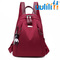 UULILI  Women Oxford  bookbags Female Rucksack School Backpacks For Teenagers Girls Fashion Travel red 10*5*12(in)