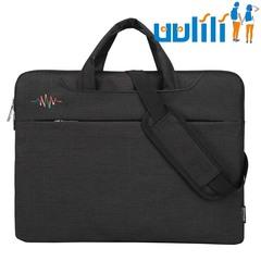 UULILI Laptop bag handbag Single shoulder bag Waterproof bag Business laptop bag black
