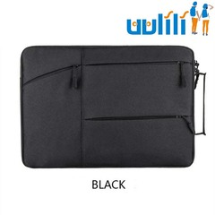 UULILI Laptop case Multi-function computer package Laptop bag Business computer bag black 17*1*13(in)