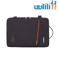 UULILI Laptop case A briefcase Laptop bag Nylon bag Multifunctional package black 16*1*11(in)