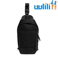 UULILI Outdoor sports bag Chest package Multifunctional package Change collection bag black 7*4*13(in)