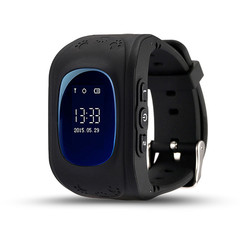 Q50 GPS Children's Smart Watch SOS Call Locator Location Tracking Monitor Baby Watch black one size