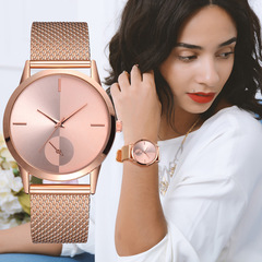 NEW Women's watch stainless steel band watch Fashion & Casual dropshipping women watch rose gold one size
