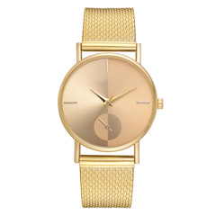 NEW Women's watch stainless steel band watch Fashion & Casual dropshipping women watch gold one size