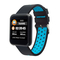 SPORT3 Waterproof Sports Band Heart Rate and Blood Pressure Smart Watch blue one size
