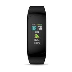 Plug C Heart Rate Monitoring News Notification Waterproof Bluetooth Smart Watch black one size