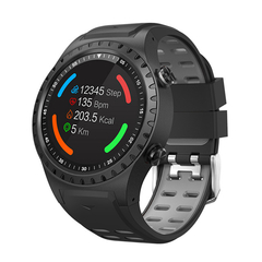 M1S Card Movement Smart Watch GPS Positioning Compass Waterproof Plug-in Card Smart Watch blue one size