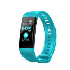 Y5 Bluetooth smart watch health monitoring color screen pedometer message push smart watch blue one size
