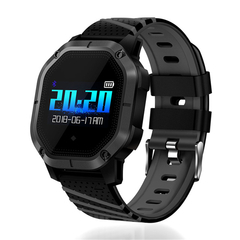 K5 Various Sports Mode Heart Rate Monitoring Waterproof Bluetooth Smart Watch black one size
