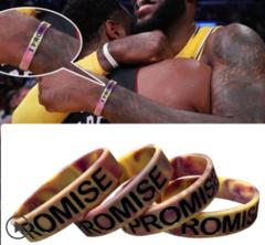 Basketball bracelet silicone sports bracelet wrist bracelet with popular logo basketball lovers IP new 24cm