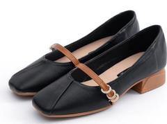 Single women flat shoes grandma summer new shoes 2019 autumn tide black 35