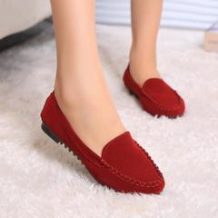 ladies summer flat shoes women flats red 39