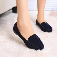 ladies summer flat shoes women flats blue 37