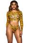 Women Swimsuit Halter Push Up Top Long Sleeve Bikini Set Two Piece Bathing Suit Split Swimwear BYC001 M