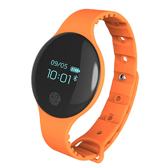 H8 Sports Smartwatch Bluetooth 4.0 App for iPhone Infinix Huawei Android Phones smart wristband Orange One size(Dial diameter 37mm)