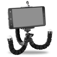 Phone Holder Flexible Octopus Tripod Bracket Selfie Expanding Stand Monopod For Mobile Phone Camera Black One size