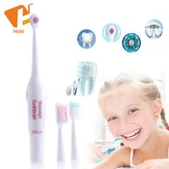 Electric Toothbrush With 3 Brush Heads Professional Oral Care Precision Clean Multicolor One size