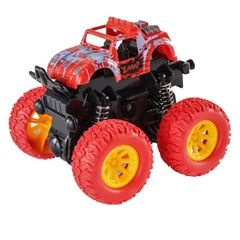 Fast Delivery within 1-5 Working Days Inertia off-Road Vehicle Children Model Car Toy Cars Kids Toys Red One size
