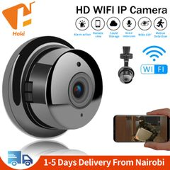 Mini WiFi IP Camera Wireless Home Security Camera CCTV IR Night Vision Motion Detection SD Card Slot No lights Bracket Version