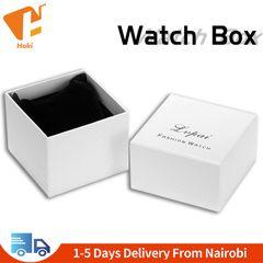 Fashion Watch Box Bracelet Jewelry Box Women Watch Gift Boxes Showed Case Watch Organizer White