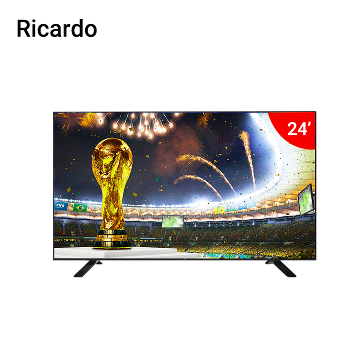"Ricardo Ricardo- 24"" RC-24DTC  - HD - Digital LED TV black 24 inch"