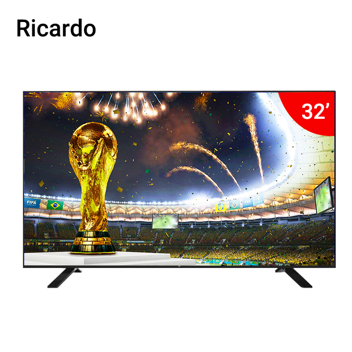 "Ricardo Ricardo- 32"" RC-32DTV - HD - Digital LED TV black 32 inch"