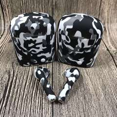 earphones wireless Bluetooth double i7s Superior quality Coloured drawing Leisure Long endurance Black and white camouflage